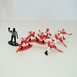 """Detroit Red Wings Hockey Guys NHL 3"""" Action Figures 2007 Plastic Lot of 7  + Ref"""