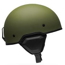 Bell Recon-asfalto Mate Oliva mitad casco | Entrega rápida libre