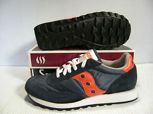SAUCONY JAZZ ORIGINAL SNEAKER UNISEX MEN SIZE 8 = WOMEN SIZE 9.5 SHOES NAVY NEW