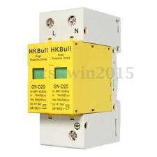 SPD 1P+N 10KA~20KA D~385VAC House Surge Protector Low-voltage Protective Device