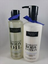 Lot Of 2 Victoria's Secret Hydrate Body Lotion Weightless Body Oil Passionflower
