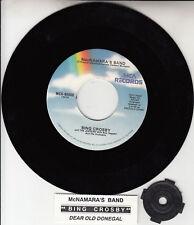 "BING CROSBY St. Patrick's Day Parade 7"" 45 rpm record NEW + juke box title strip"