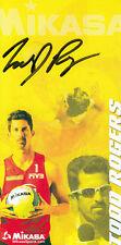 Todd Rogers (USA) Beachvolleyball Gold Peking 2008 original signiert/signed !!!