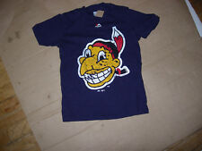 Cleveland Indians SUPER-SIZE 1940s CHIEF WAHOO COOPERSTOWN COLLECTION sz8 TShirt