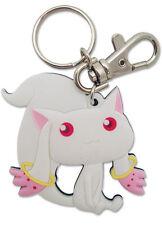 **Legit** Madoka Magica Authentic Anime PVC Keychain SD Kyubey #5104