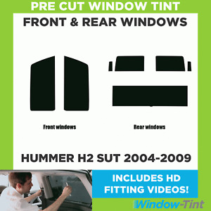 Pre Cut Window Tint - Hummer H2 SUT 2004-2009 - Full Kit