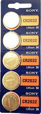 Pile bouton lithium CR 2032 220 mAh 3 V Sony 10 pcs