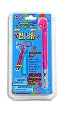 Rainbow Loom Tail Upgrade Kit - Metal Hook - Pink 1-Pack Free Shipping