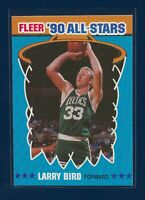 💥1990 Fleer All-Stars #2 Larry Bird HOF Boston Celtics Pack Fresh MINT 10💥