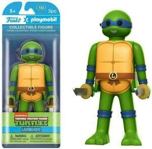 """Funko Teenage Mutant Ninja Turtles Leonardo Playmobil 5"""" Action Figure"""