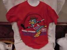SUPER COOL Montreal Canadiens Youth Small Majestic T-Shirt, Perry Platipus NEW!