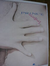 PRINCE - MAGAZINE CUTTING (FULL PAGE ADVERT) (REF YF)