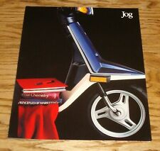 Original 1987 Yamaha Jog Scooter Sales Brochure 87