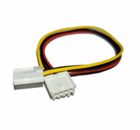 New 4 pin Header Floppy Power Cable for Amiga 500 600 1200 2000 Computers #651