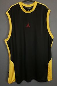 RARE MEN'S NIKE AIR JIRDAN NBA BASKETBALL SHIRT JERSEY SLEEVELESS SIZE 3XL XXXL