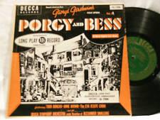"""GERSHWIN Porgy & Bess Todd Duncan Smallens Decca 10"""" LP"""