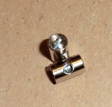 2 Stück Schraubnippel  5x8 mm