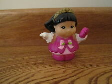 Fisher Price Little People Lady Girl woman Sonya Lee Pink dress dance princess
