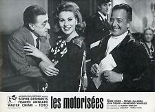 TOTO LIANA ORFEI LE MOTORIZZATE 1963 VINTAGE PHOTO LOBBY CARD N°2