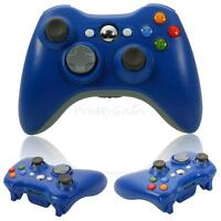 New Wireless Game Remote Controller Joypad for Microsoft Xbox 360 Console Blue