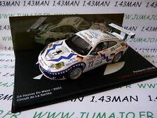 1/43 IXO Altaya : 24 Heures MANS 2001 PORSCHE 911 GT3 RS #77 Jeannette Dumas