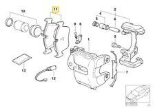 Genuine BMW E83 X3 2.0d 2.0i 2.5i Front brake pads asbestos-free 34113404362