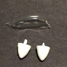 Huma Me-609 1/72 Model Kit Correction Parts, Canopy & Resin Spinners