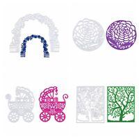 Flower DIY Metal Cutting Dies Stencils DIY Scrapbooking Album Paper Card Craft