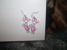 - Brand New Piglet Earrings - Pierced