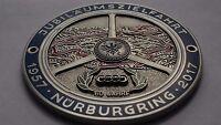 Audi Nurburgring Grill badge emblem badge vintage grill badge emblem badge logo