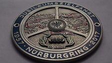 AUDI Nurburgring parrilla insignia emblema insignia parrilla insignia emblema insignia con logotipo de Vintage