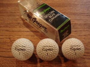 Sleeve of Golden Bear Cayman Golf Balls