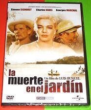 LA MUERTE EN EL JARDIN La mort en ce jardin - Luis Buñuel DVD R2 Precintada