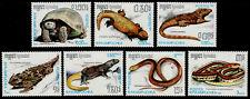 CAMBODGE Kampuchea N°751/757** Reptiles, tortues, 1987 CAMBODIA Turtle...MNH