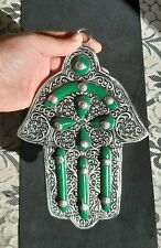 Green Khamsa Moroccan hand berbère normal from  Moroccan heritage 112 g