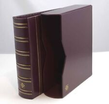 1 Lighthouse Classic Vario G Binder and Slipcase-Burgundy-Free Shipping!