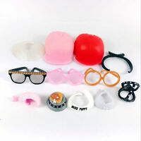 random 20Pcs LOL Surprise Pets Doll Accessory Sun glasses cap Shovel Hairpin toy