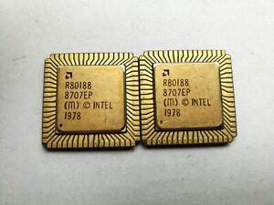 Vintage R80188 16-BIT High-Integration Microprocessor x 1pc