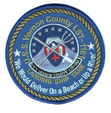 "USN Navy Ship Patch:  USS Verron County LST-1161 - 4"""