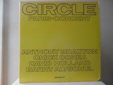 ANTHONY BRAXTON & COREA - CIRCLE PARIS-CONCERT - ECM RECORDS-1018/1 - MINT - NEW