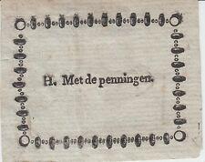 Ex-libris H. MET de PENNINGEN - Belgique.