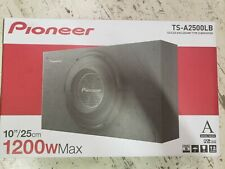 """Pioneer TS-A2500LB 1200 Watt Truck-style Sealed Enclosure with 10"""" Subwoofer NEW"""