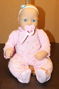🍼Baby Annabell Doll Blue Eyes With Pacifier And Original Clothing!