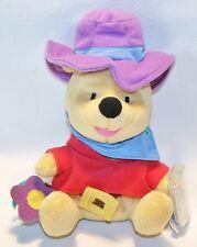 "Winnie The Pooh Ride'em Cowboy Star Bean Plush Disney Beanbag New Stuffed Toy 7"""