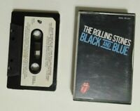 The Rolling Stones Black And Blue Cassette Tape Good Condition Working rock era
