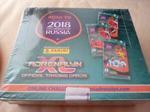 Brazil version 2018 Panini Box Adrenalyn Road to World Cup Russia with 24x Packs