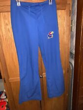 Juniors Blue Kansas Jayhawks Scrub Pants S