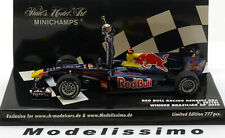 1:43 Minichamps Red Bull Renault RB6 GP Brasil Vettel 2010 with figure