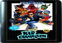 Kid Chameleon (1992) 16 Bit Game Card For Sega Genesis / Mega Drive System