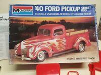Monogram 40 Ford Pickup Street Rod